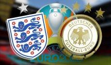 التشكيلتان الرسميتان لمباراة المانيا وانكلترا