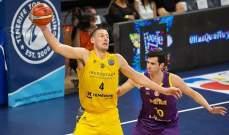 دوري ابطال اوروبا لكرة السلة: تينيريفي يفوز ويبقى في الصدارة وفوز كبير لباوك
