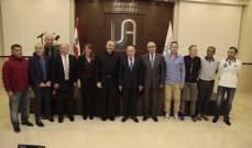 مؤتمر علمي في الجامعة الأنطونية  حول الرباط الصليبي لدى اللاعبين
