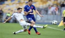 دوري الابطال: دينامو كييف يحسم تأهله امام سلافيا براغ وتأهل باتي بوريسوف