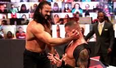 WWE: ماكنتاير يواجه اورتن والنتائج الكاملة لعرض الرو