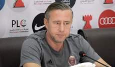 مدرب الوحدة : سعيد بالفوز على دبا وبأداء اللاعبين الشباب