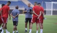 مدرب المغرب يشيد باصرار اللاعبين على تعديل النتيجة خلال ودية بوركينا فاسو