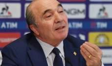 رئيس فيورنتينا: لاعبو الفريق بكوا بعد الخسارة من يوفنتوس