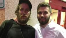 مبادرة انسانية من لاعب المنتخب الايرلندي في لاس فيغاس الاميركية