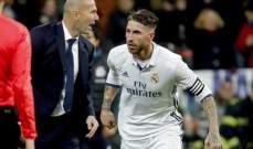 راموس: انا لا أتخذ القرارات في ريال مدريد