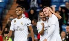 مهاجم ريال مدريد يعود بطائرة خاصة إلى اسبانيا