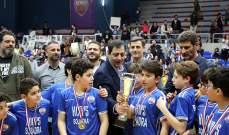 مشاركة كبيرة في البطولات العمرية لكرة السلة اللبنانية