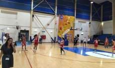 غرب اسيا لكرة السلة للسيدات: لبنان يتخطى ايران بسهولة