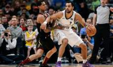 NBA: دنفر مستمر بملاحقة الواريرز وشيكاغو يسقط للمرة العاشرة على التوالي