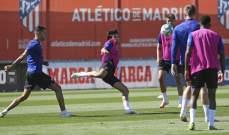 اتلتيكو مدريد يستعيد فيلكس قبل مواجهة أوساسونا
