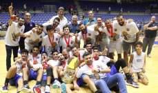 بطولة لبنان تحت 23 عام: هوبس يحرز اللقب على حساب الرياضي