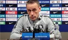 مدرب كوريا الجنوبية يتوقع مباراة صعبة للغاية امام قطر