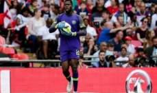 رقم مميز لحارس مرمى منتخب نيجيريا الشاب