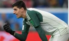 كورتوا لم يرغب رؤية فرنسا تتوج  بلقب كاس العالم 2018