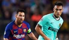 برشلونة يراهن على رغبة لاوتارو باللعب مع ميسي