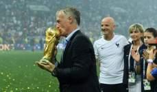 فرانس فوتبول : ديدييه ديشان افضل مدرب فرنسي