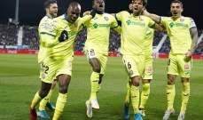 الدوري الاسباني: فوز كبير لخيتافي على ليغانيس