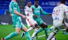 الدوري الفرنسي: ليون يتخطى انجيه بثلاثية نظيفة