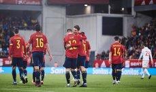 الكشف عن مكافأة لاعبي منتخب اسبانيا في حال الفوز بلقب اليورو