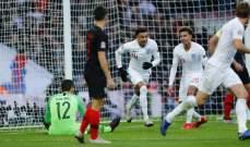 دوري الأمم الأوروبية: فوز مثير لإنكلترا على كرواتيا يمنحها بطاقة التأهل لنصف النهائي