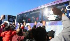 إستقبال الأبطال لمنتخب الارجنتين في العاصمة بوينوس آيرس