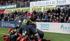 أيندهوفن يغرد في صدارة الدوري الهولندي