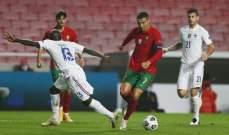 البرتغال وانكلترا فقدتا حظوظهما  في المنافسة على لقب دوري الامم الاوروبية