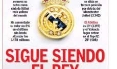 جولة على أبرز الصحف الأوروبية الرياضية