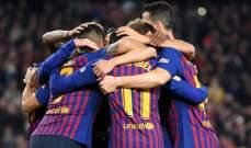 برشلونة يعزز صدارته بهدفي ميسي وديمبيلي امام سيلتا فيغو