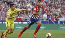 فياريال قد يستفيد من رحيل رودريغو عن اتلتيكو مدريد