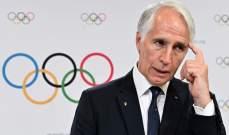 اللجنة الأولمبية الدولية تنذر نظيرتها الايطالية بخطر الاستبعاد من الألعاب