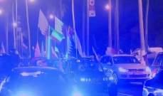 القطريون يخرجون الى الشوارع احتفاء بالفوز بالتاريخي بكأس آسيا