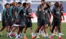 بيريسيتش اساسيا امام برشلونة وميسي وسواريز يقودان هجوم البلوغرانا