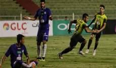 المقاولون العرب يهزم الانتاج الحربي بالدوري المصري