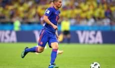 الكولومبي جايمس رودريغيز يحرز جائزة افضل لاعب في لقاء بولندا