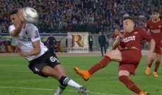 انجاز تاريخي في مباراة روما وليفربول