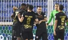 الدوري السعودي: الرائد يحقق فوزا صعبا على ضمك