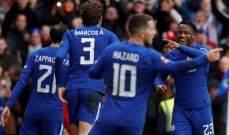 كأس الإتحاد: تشيلسي يعبر للدور القادم بفوز سهل على نيوكاسل