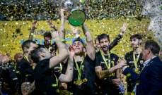 """""""أيك"""" يهزم فلامنغو ليحرز لقب كأس القارات الاول في السلة"""