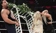 الرو: ليف مورغان تقتحم حفل زواج لانا واصابة اورتن مجرد خدعة
