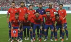 لاعبو تشيلي يرفضون مواجهة البيرو بسبب الأزمة في بلادهم