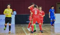 لبنان يكتسح السعودية ويصل رسمياً الى كأس آسيا لكرة الصالات تحت 20 سنة