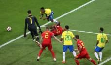ركلة جزاء مستحقة للاوروغواي والبرازيل في مباراتهما امام فرنسا وبلجيكا