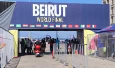 خاص : السبورت تعرض بالصور التحضيرات قبل انطلاق نهائيات الانزلاق كار بارك في بيروت