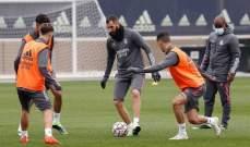 بنزيما يدعم قائمة ريال مدريد لمواجهة شاختار الاوكراني