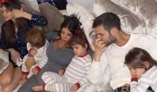 فابريغاس ينشر صورة عائلية في اجواء الميلاد