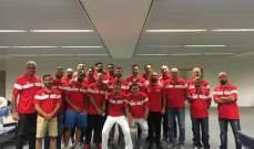 بعثة منتخب لبنان للرجال في كرة السلة تنخرط بمعسكر تدريبي في صربيا