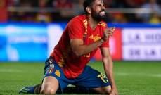 دييغو كوستا يسجل هدف التعادل لاسبانيا د 24