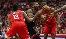 NBA: ميمفيس يسقط للمرة الثامنة على التوالي وهيوستن يتفوق على تورنتو